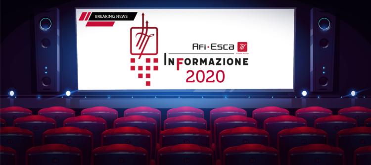 Afi Esca InFormazione 2020: Una convention come segno di svolta e ripartenza