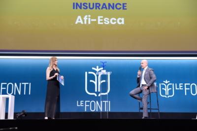Afi Esca premiata come Eccellenza dell'Anno per la Credit Protection Insurance
